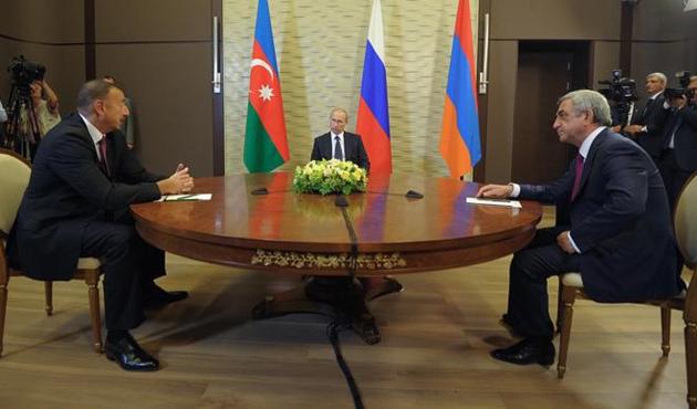 Aliyev, Putin ve Sarkisyan Dağlık Karabağ'ı görüştü