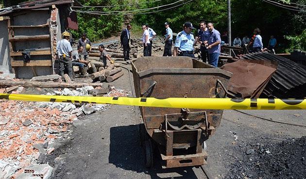İki madende iki göçük; iki ölü