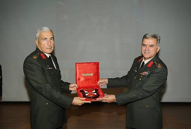Jandarma Genel Komutanlığı'nda devir teslim