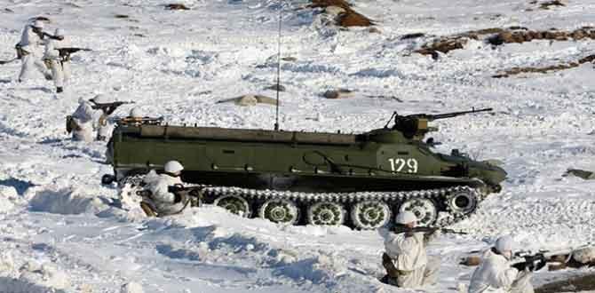 Rusya kutuplardaki askeri varlığını artırıyor