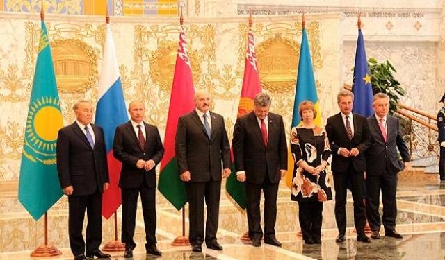 Minsk'teki Ukrayna zirvesinden sonuç çıkmadı