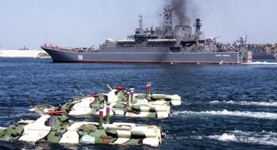 Rusya, Karadeniz'e 12 savaş gemisi gönderiyor