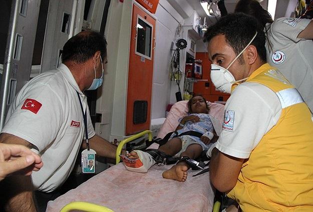 Gazzeli yaralılar Türkiye'de