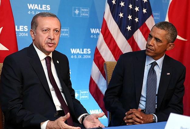 Erdoğan ile Obama bir araya geldi