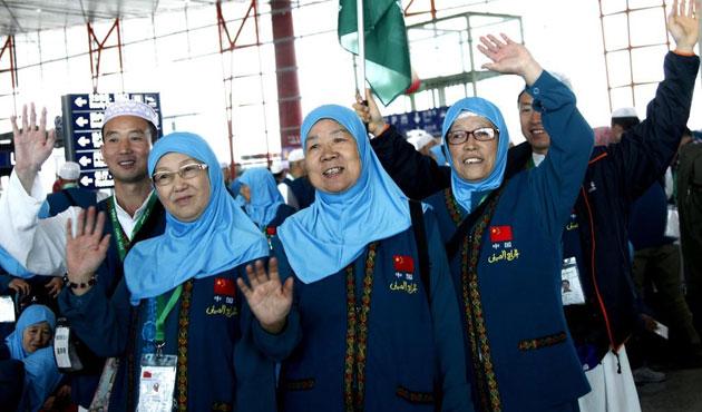 Çin'den hacca bu yıl 14 bin kişi gidiyor