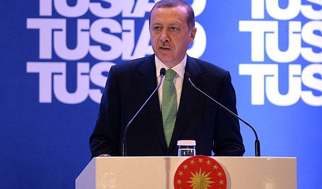 Erdoğan TÜSİAD'da sert konuştu