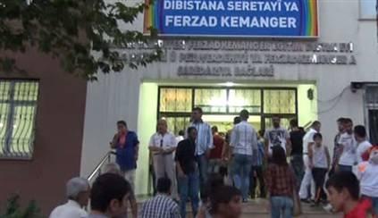 Kürtçe okulun mührü yeniden söküldü