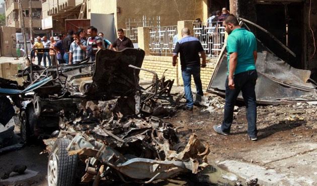 Bağdat'ta bombalı saldırıda 20 kişi öldü