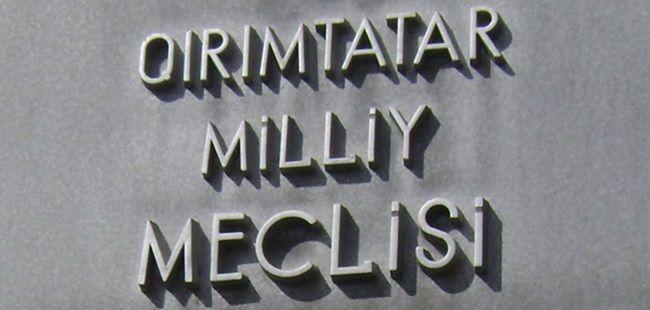 Kırım Tatar Milli Meclis'ine mühür