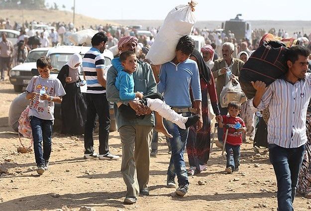 ABD ve Avrupa, Suriyeli mültecilere kör