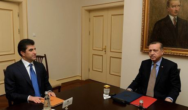 Erdoğan pazar günü Barzani ile görüşecek