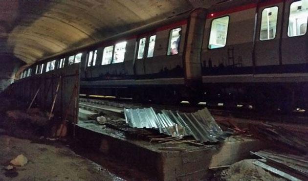 Metro kazasında yaralanan kişinin babası konuştu