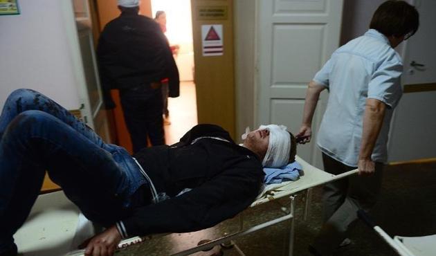 Donetsk'te okul bahçesine roketli saldırı: 10 ölü