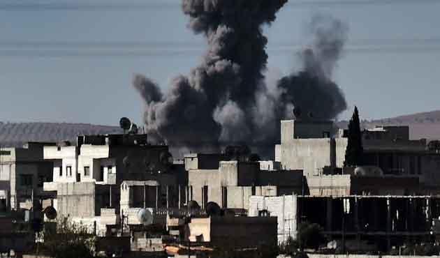 Muhalifler: Kobani merkezde sivil kalmadı