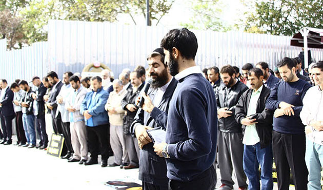 Gösterilerde öldürülenler için giyabi cenaze namazı
