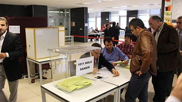 HSYK seçimlerinde oy verme işlemi tamamlandı
