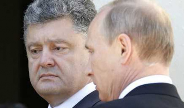 Putin'le Poroşenko Milano'da bir araya geldi