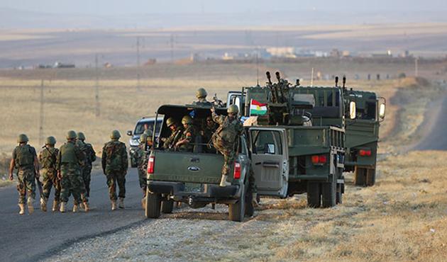 Peşmergenin eğittiği Kürtler Kobani'ye dönüyor
