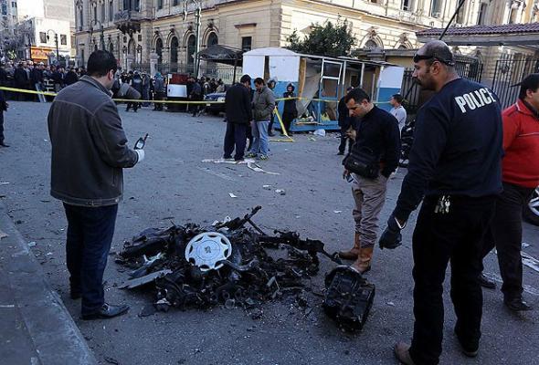 Mısır'da patlama: 10 yaralı