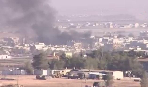 Kobani'deki çatışmaların şiddeti azaldı