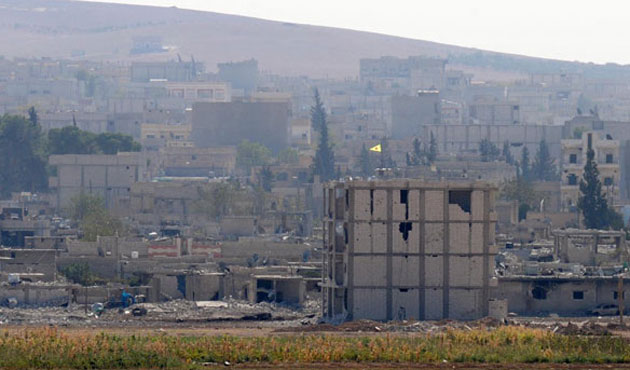 Kobani'nin merkezinde çatışmalar yoğunlaştı