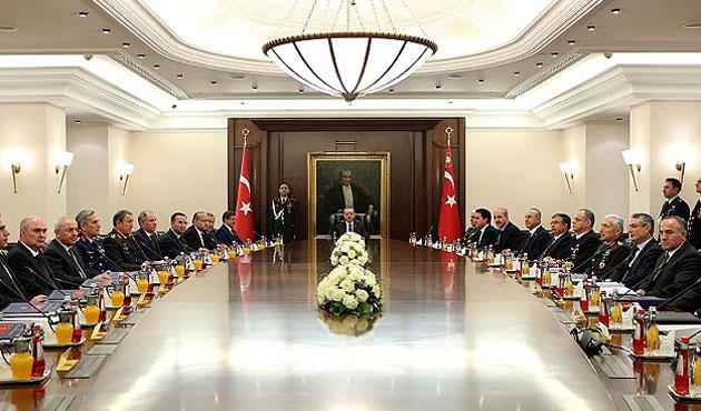 Erdoğan başkanlığında ilk MGK toplandı