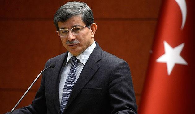 Başbakan Davutoğlu Irak'a gitti