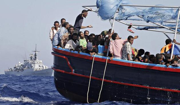 Güvenlik güçleri 533 mülteciyi durdurdu