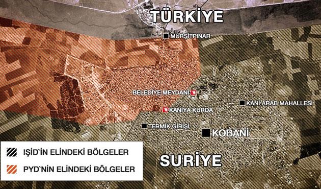 IŞİD Kobani'nin yüzde 70'ini aldı