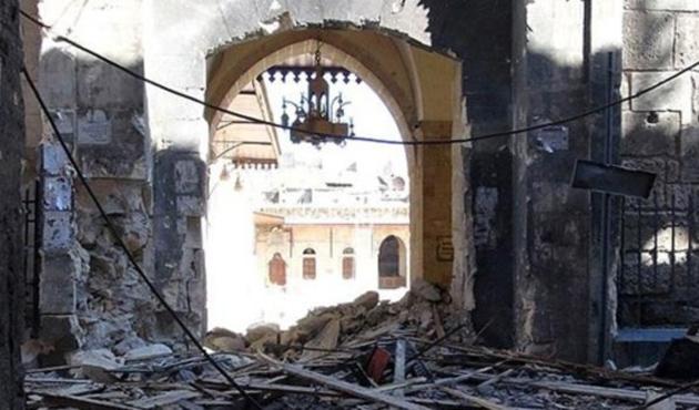 Yahudi yerleşimciler camiyi yaktı