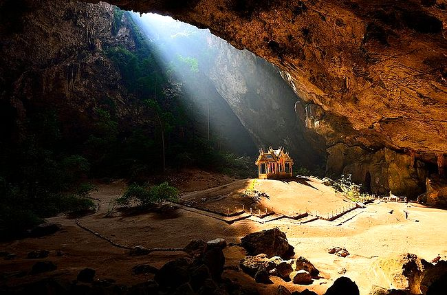 Mağaradaki köşk