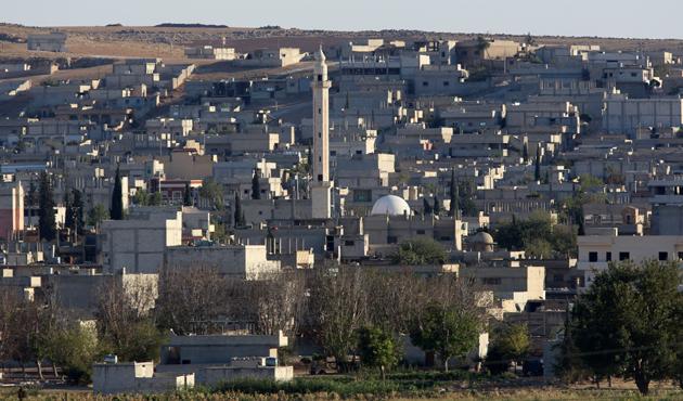 IŞİD Kobani'nin batısında belirdi