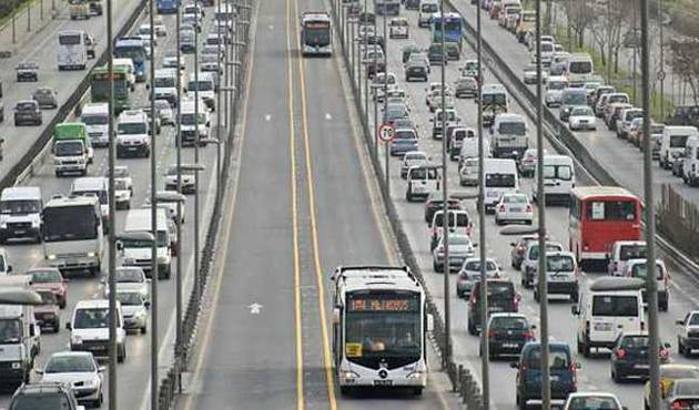 İstanbul'da pazar günü bu yollar kapalı