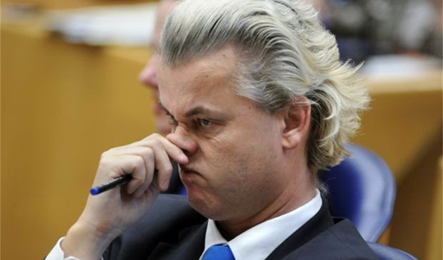Irkçı Wilders'tan Türk seçmene hakaret