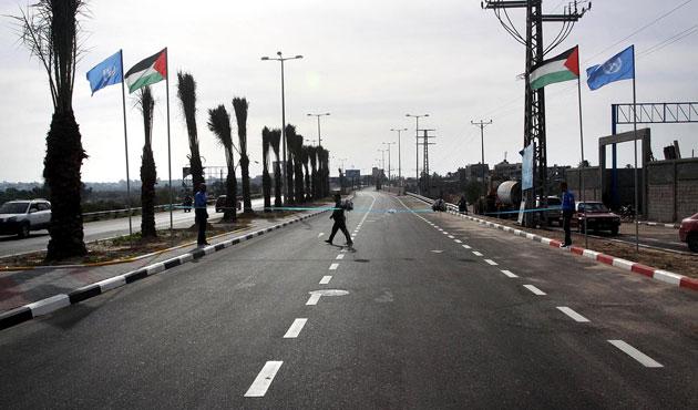 Gazze'nin güneyiyle kuzeyi köprüyle bağlandı