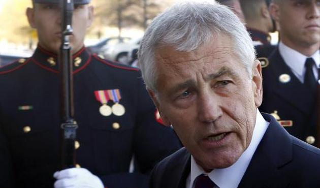 ABD Savunma Bakanı Hagel Afganistan'da