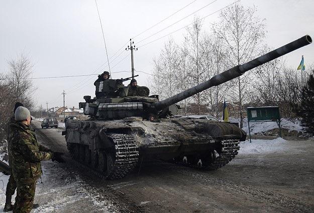 Ukrayna'da hastaneye top mermisi isabet etti