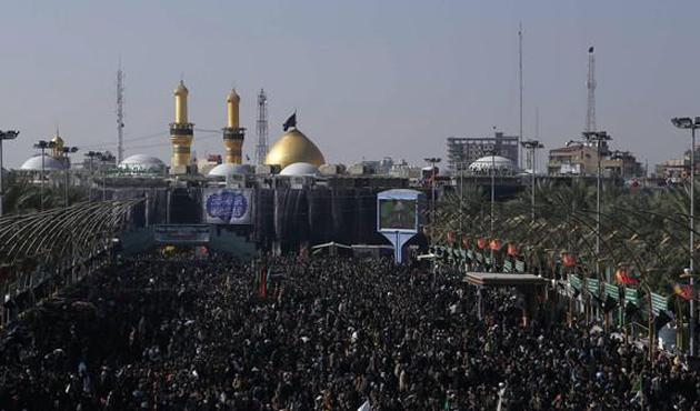 Kerbela'da 17,5 milyon Şii Müslüman toplandı