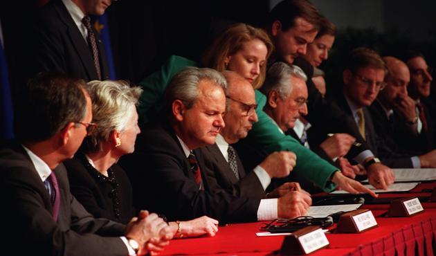 Dayton savaşı bitirdi ama siyasi karmaşık yapı onun eseri