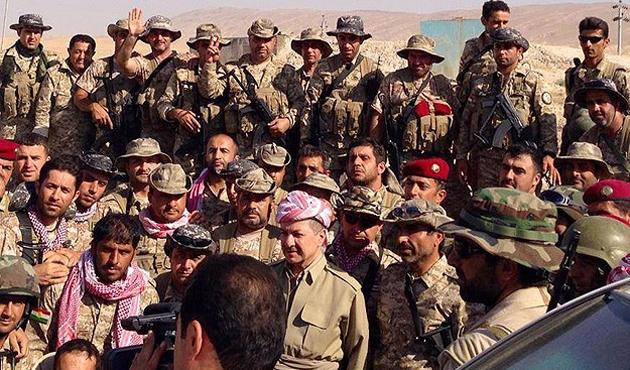 Barzani Sincar Dağı'nı ziyaret etti