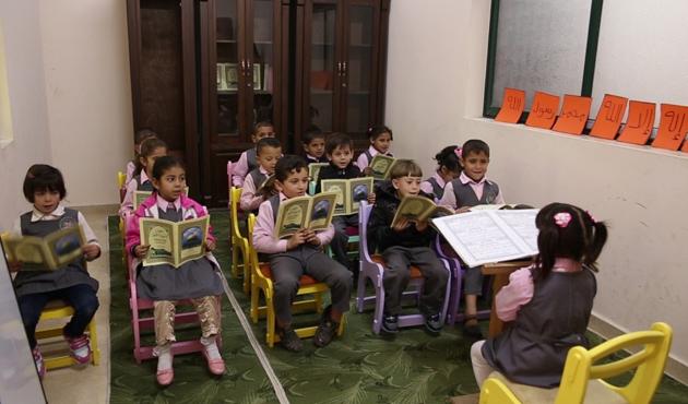 Türkiyeli hayırseverlerden Gazze'ye anaokulu