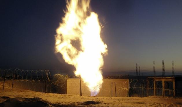 Sina'da doğalgaz hattına saldırı