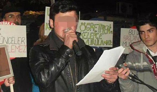 Cumhurbaşkanına hakaret eden öğrenci tutuklandı