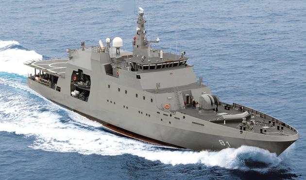 İsrail deniz karakol gemisi alıyor