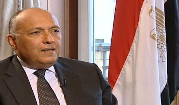 Mısır Dışişleri Bakanı Şükri Türkiye'de