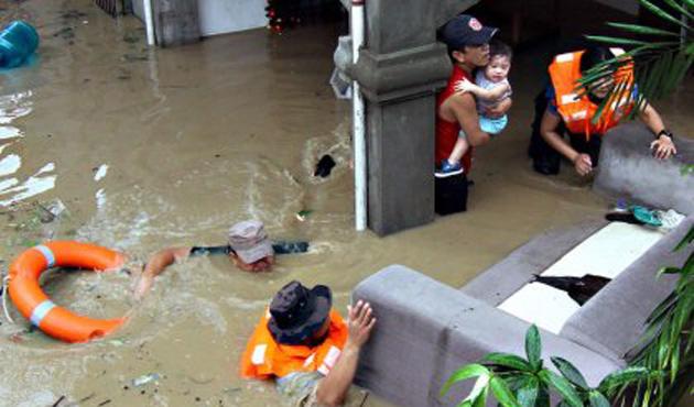 Filipinler'de fırtına ve sel: 53 ölü