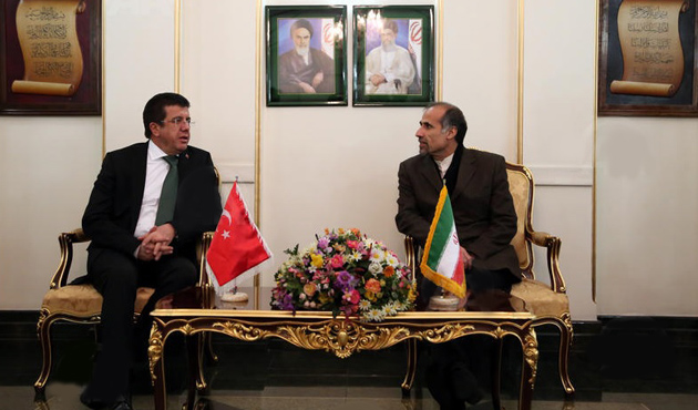 Ekonomi Bakanı Zeybekci İran'da