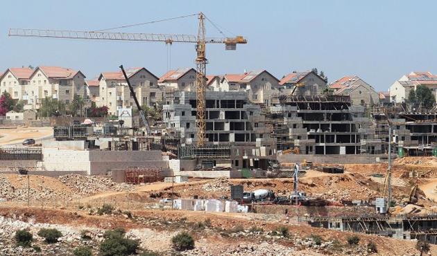 İsrail'in yerleşim terörü 2014'te yüzde 40 arttı