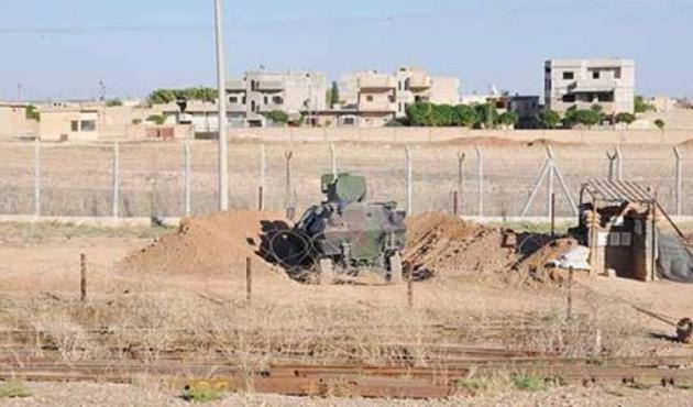 Suriye sınırında bir astsubay kaçırıldı