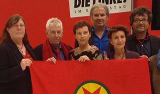 PKK flaması kaldıran Alman vekillere soruşturma